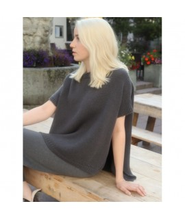 Cashmere turtleneck armless