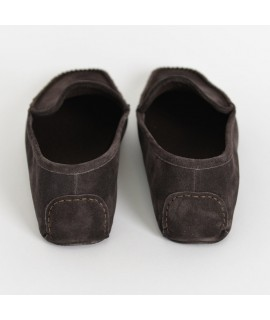 Men suede slippers