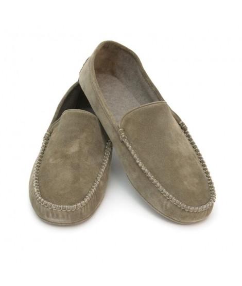 Men suede slippers