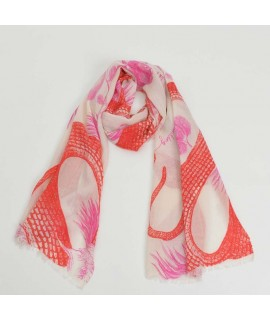 Cashmere Scarf Square Eyes of Marrakesh