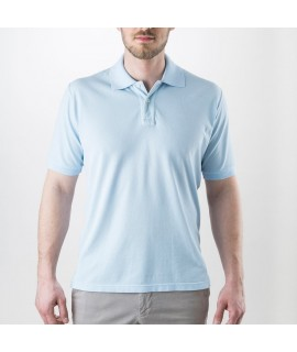 Mens Polo Shirt Adrian in  Sea Island Cotton
