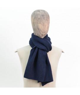 Cashmere rib scarf