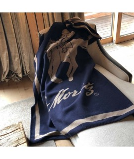 "St. Moritz blanket ""Horse with rider"""