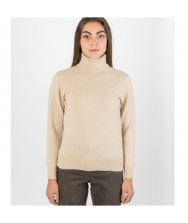 Cashmere Hoody with Rib Detail