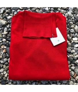 Cashmere Damen Pullover mit Rund-Ausschnitt bedruckt