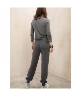 Ladies Cashmere Jogging Pants